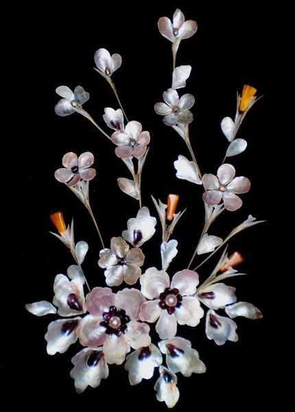Как сделать цветок из ракушек своими руками 90