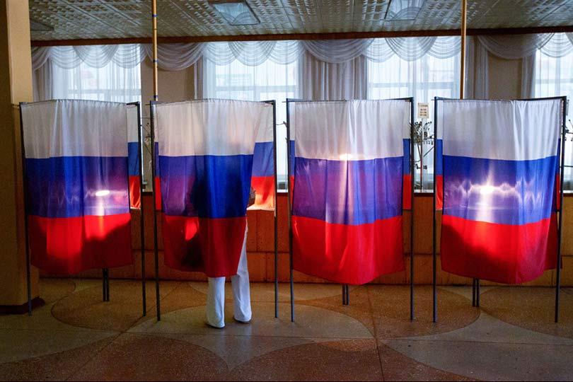 Выборы в России проводятся в…
