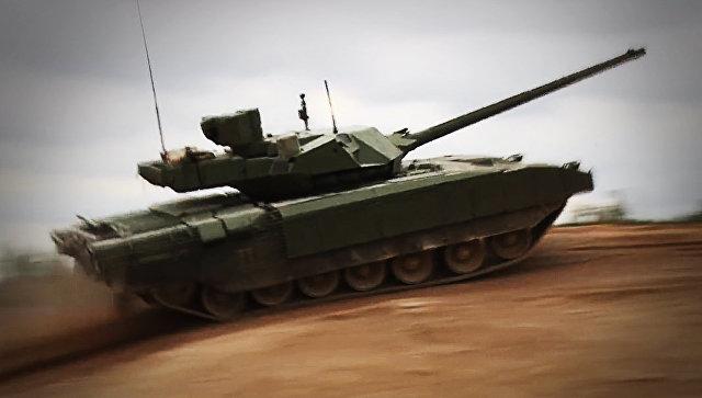 Российский беспилотный танк …