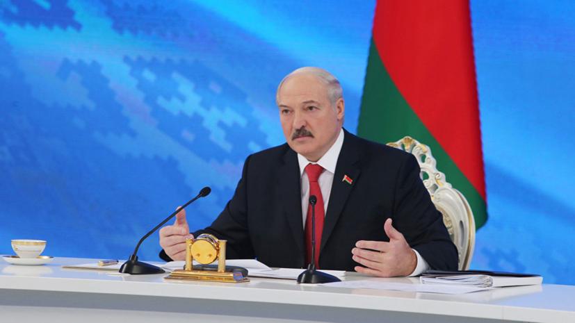 Лукашенко рассказал, в каком…