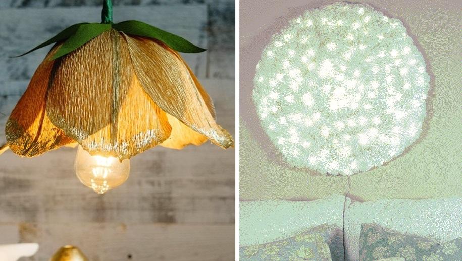 Изящные идеи. Потрясающие светильники, которые вы можете сделать из бумаги