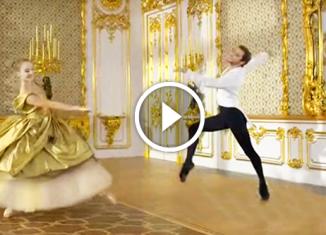 Фантастический танец под музыку неподражаемого Шостаковича. Поет великолепный Демис Руссос