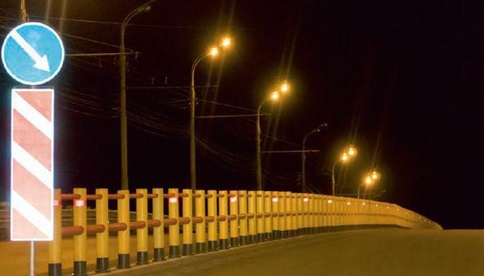 В Ижевске ГИБДД тестирует новые барьеры, защищающие от лобовых столкновений