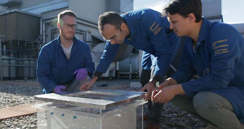 Ученые изобрели устройство, которое «подаст стакан воды» даже в пустыне