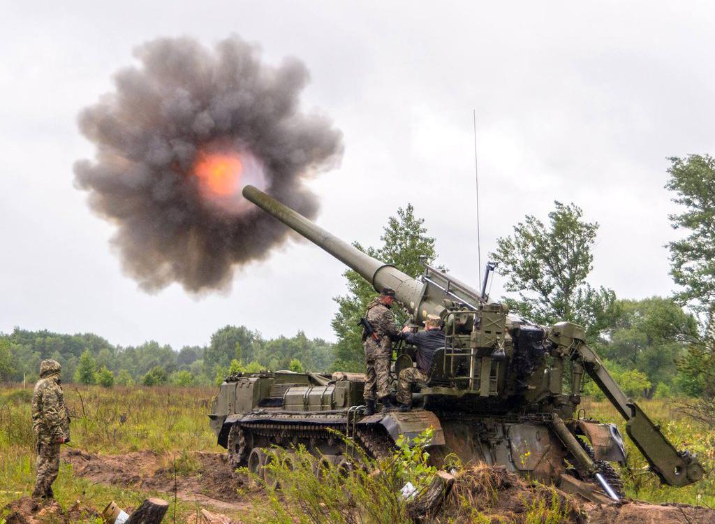 Прикрываясь учениями, ВСУ стягивают вооружение на Донбасс