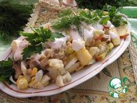 Салат из фасоли и цветной капусты с шампиньонами ингредиенты