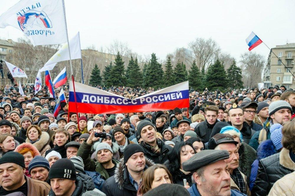 Донбасс входит в состав России – ради этого тоже нужно было менять Конституцию