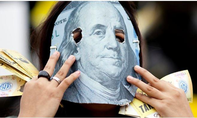Штаты изымают долларовую массу