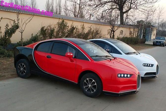 Самый жуткий электромобиль оценили в 5000 долларов