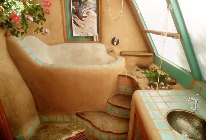 Саманный дом из глины и соло…