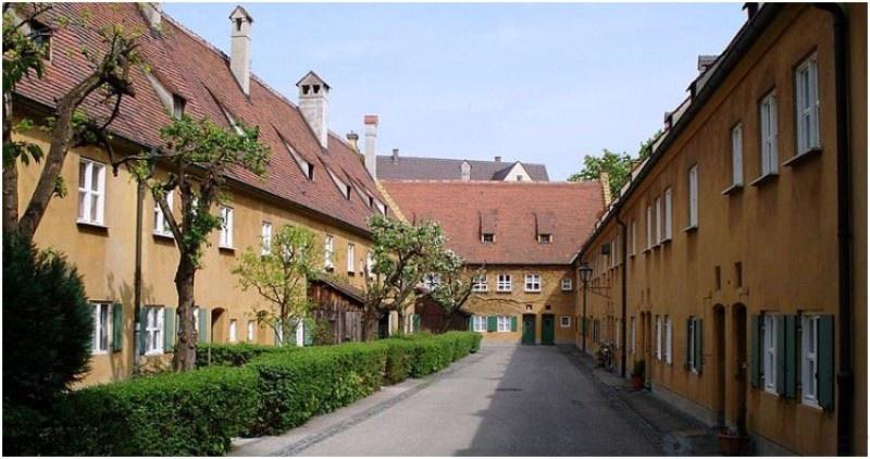 Фуггерай – немецкая деревня …