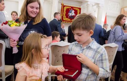 Собянин вручил госнаграды жителям Москвы