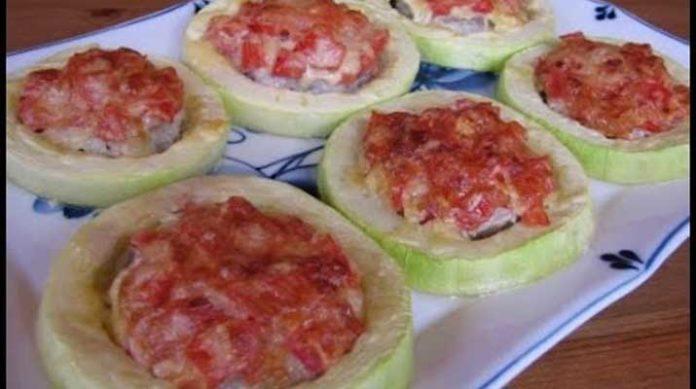 Самые вкусные кабачки с овощами и мясом