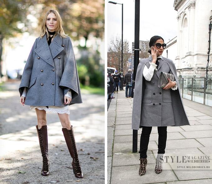 Кейп: как носить самый женственный вид верхней одежды этой осенью