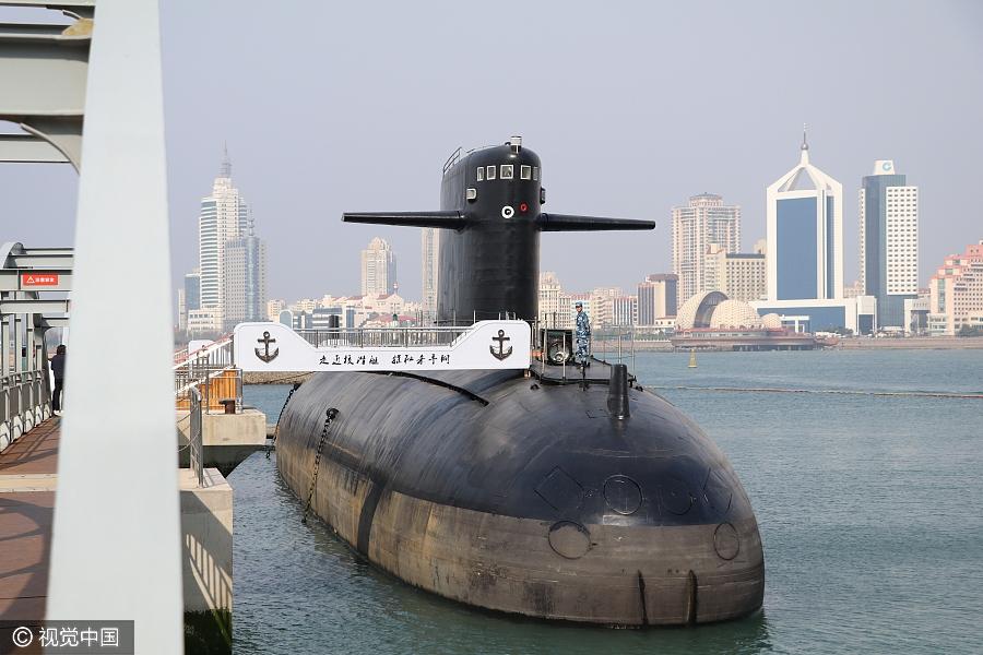 Первая китайская атомная подводная лодка стала музеем