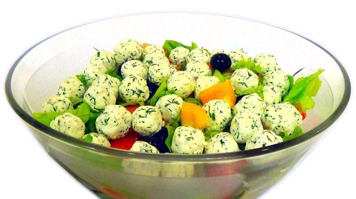 Очень вкусный салат «Средиземноморский»