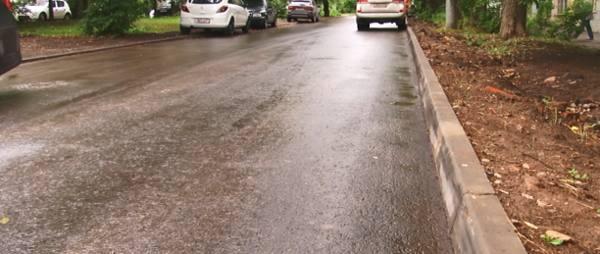 В Туле при ремонте дорог не докладывают асфальт