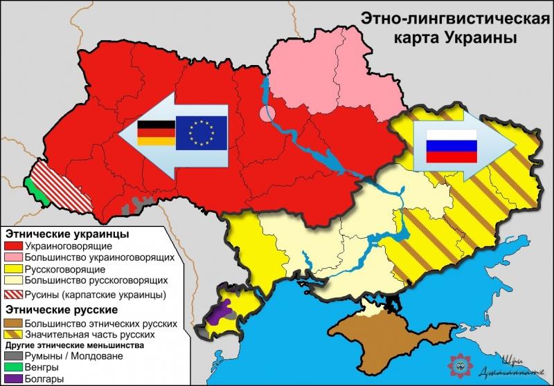 Создать мононацию на Украине?
