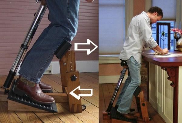 Стул для абсолютного здоровья , который позволяет сидеть стоя