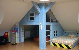 детская для многодетной комнаты