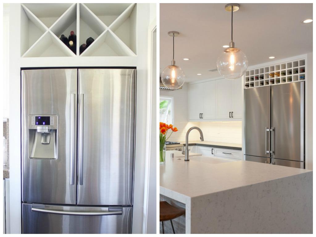 Холодильник в нише на кухне – правила выбора