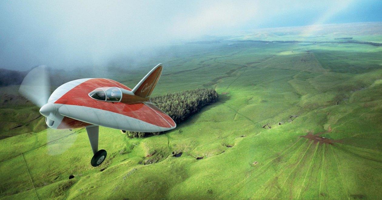 Красная стрела: история первого в мире самолета с треугольным крылом