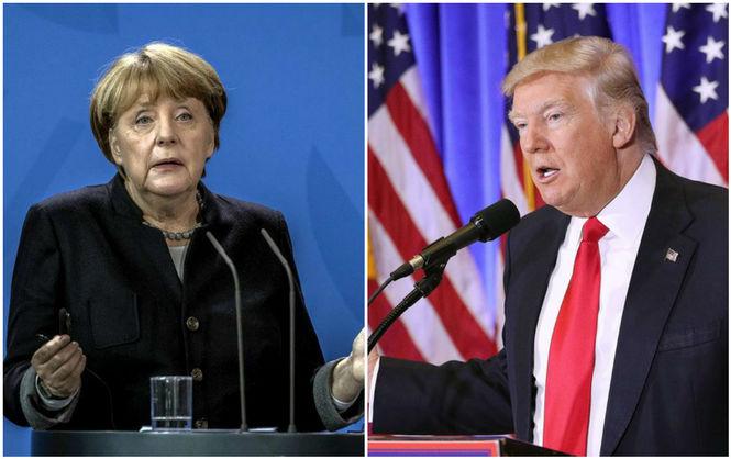 Меркель ответила Трампу на к…