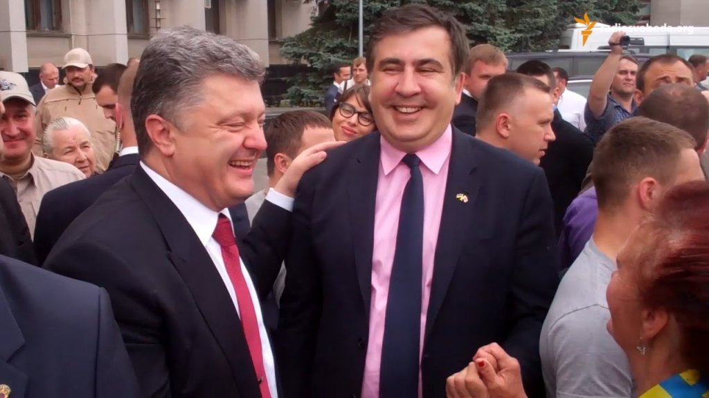 Саакашвили начал совершенно …