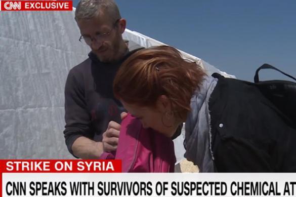 """Доказательства химатаки от CNN: """"Детский рюкзак до сих пор пахнет химоружием"""""""