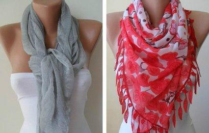 Осень — не повод грустить… Осень — это повод носить шарфик! (44 стильных идеи)