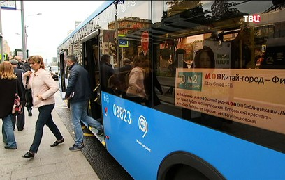 Собянин сообщил о росте числа поездок на городском транспорте в Москве
