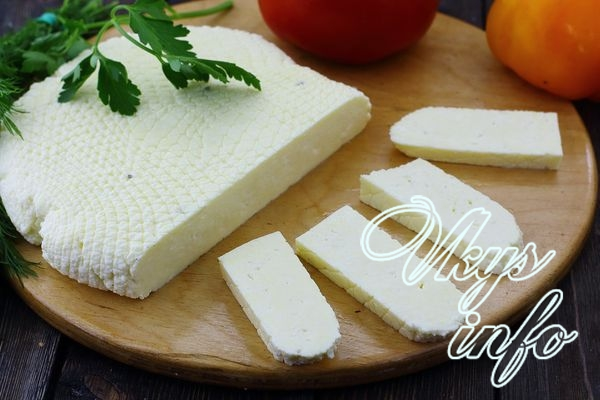 Брынза из коровьего молока в домашних условиях