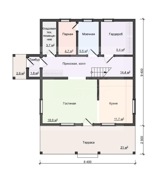 Какая цена квадратного метра деревянного дома. Сколько стоит построить деревянный дом