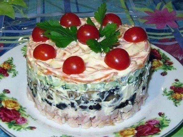 Салат «Вкуснятина» — готовлю на каждый праздник