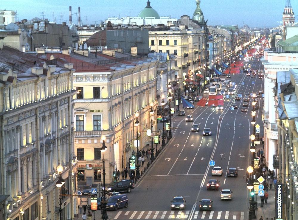 В Петербурге отмечают 300-летие Невского проспекта