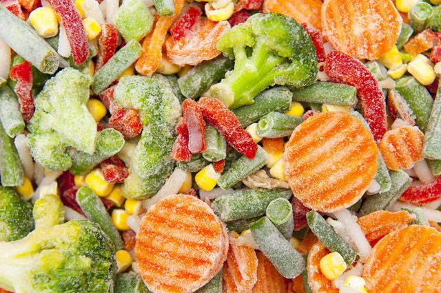Полезны ли замороженные овощи?