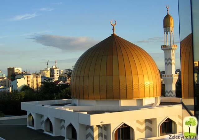 """Красивейшая мечеть """"Великой Пятницы"""" в Мале — исламский центр на Мальдивах - 10"""