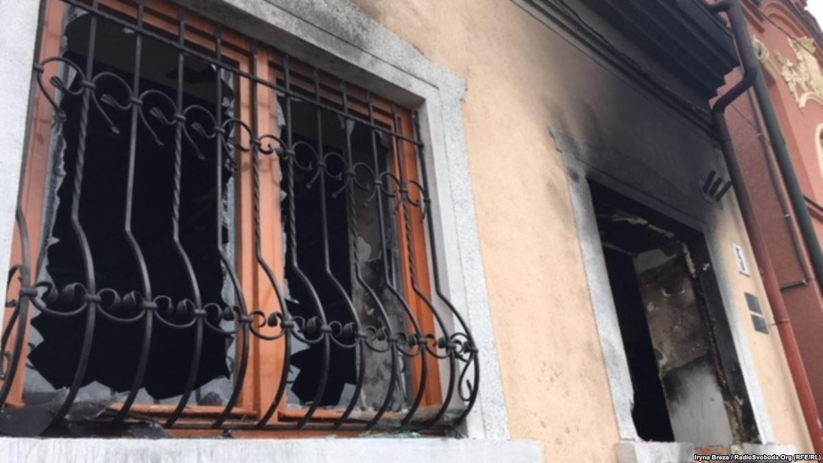 На Украине арестован возможный организатор поджога Общества венгерской культуры