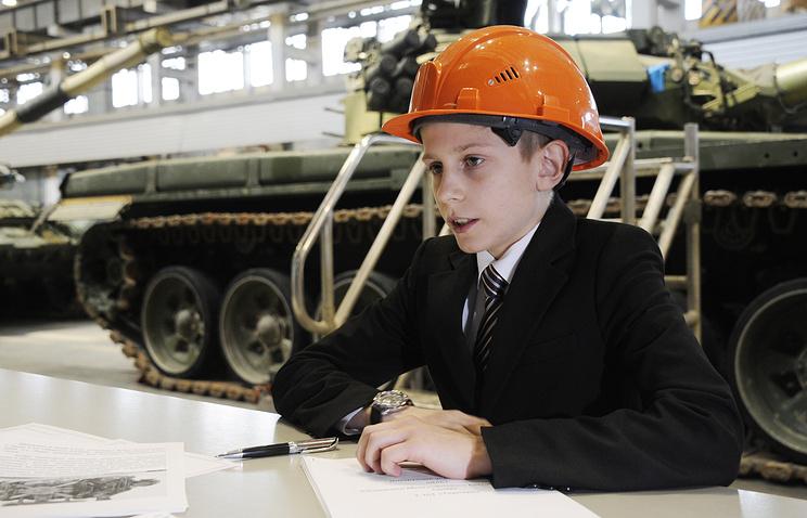 Школьники, которые придумали танк.