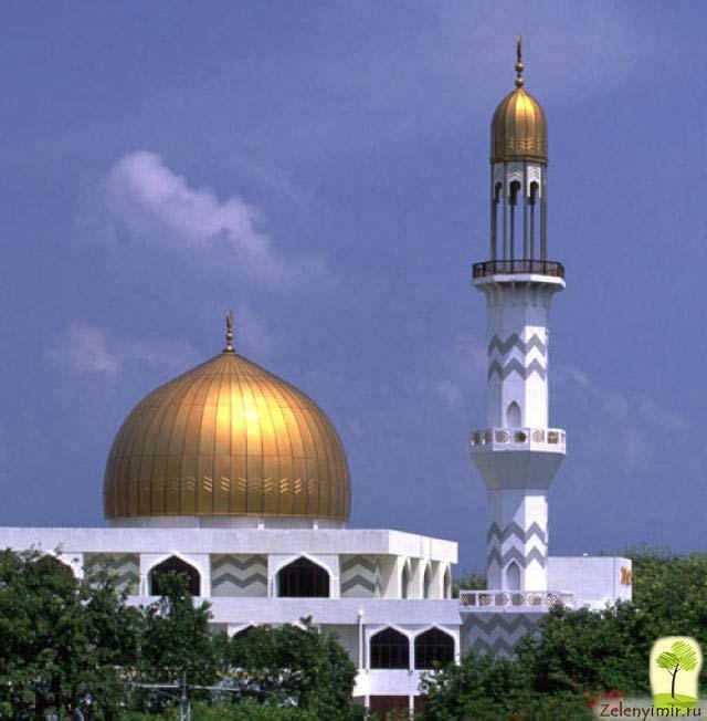 """Красивейшая мечеть """"Великой Пятницы"""" в Мале — исламский центр на Мальдивах - 4"""