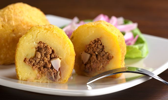 Картофель, фаршированный мяс…