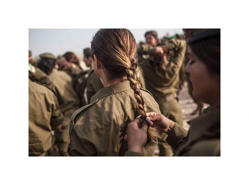 Как проходит служба женщин в армии Израиля армия, израиль, девушки
