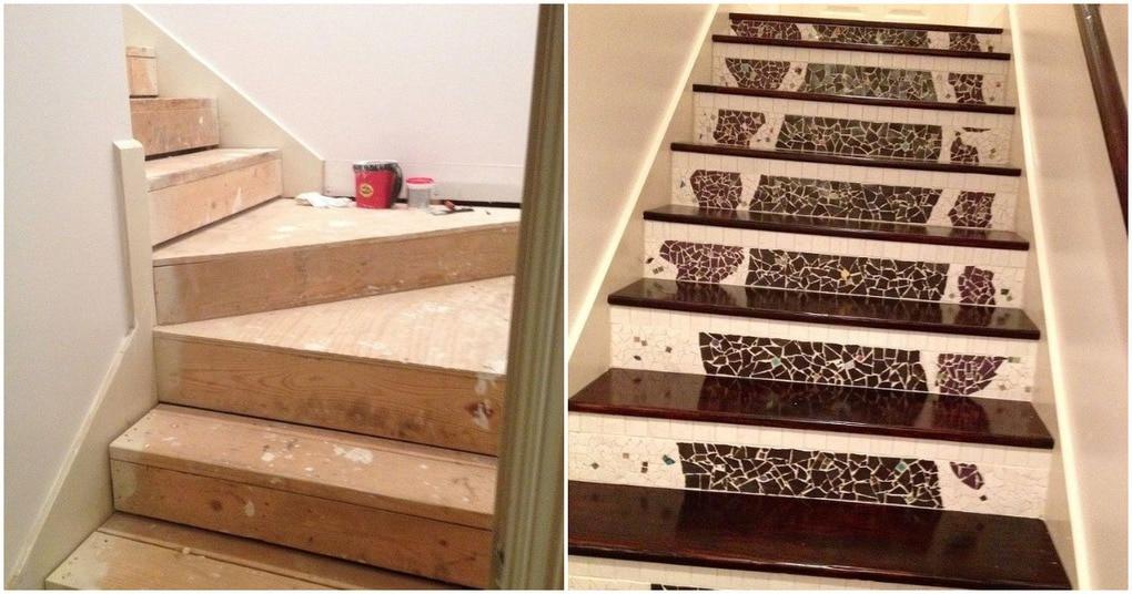 Самую обычную лестницу было …
