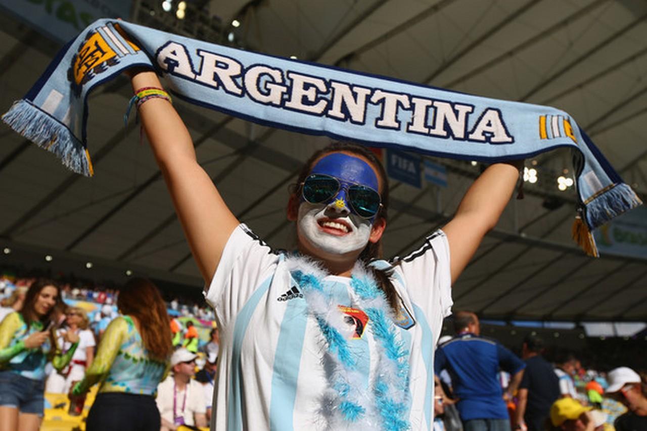 Аргентинские фанаты в Нижнем…