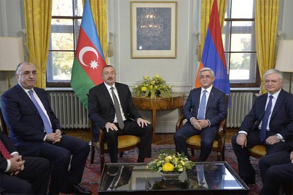 Состоялась встреча президентов Азербайджана и Армении