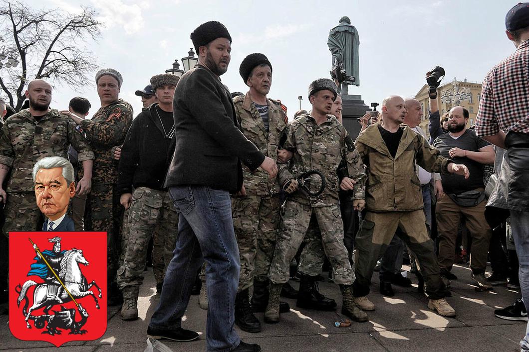 Благодарность за избиение москвичей
