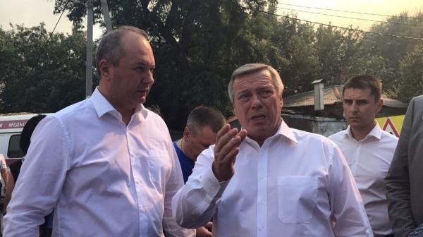 Пожар вРостове: губернатор Голубев неисключает версию поджога