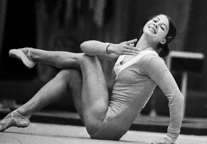 3 cоветские гимнастки, которым аплодировал весь мир