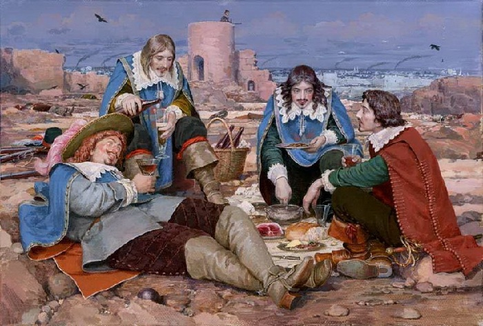 «Трем мушкетерам» Дюма почти 175 лет : Шедевральные иллюстрации, нарисованные в разные годы