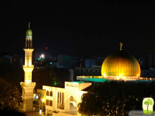 """Красивейшая мечеть """"Великой Пятницы"""" в Мале — исламский центр на Мальдивах - 5"""